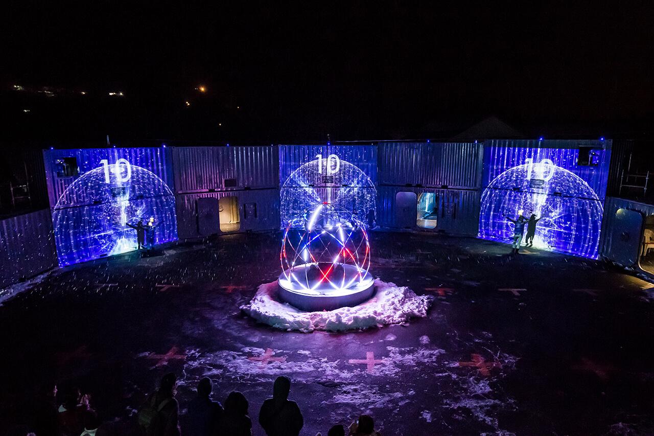 阿智村×ENRA×NAKED でオリジナルパフォーミングイベントが開催中! 天空の楽園 日本一の星空ツアー   スタービレッジ阿智
