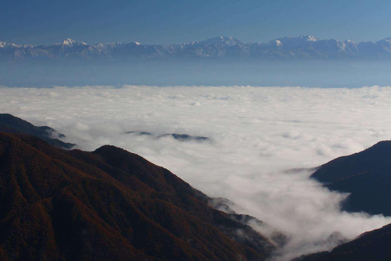 雲海の景色