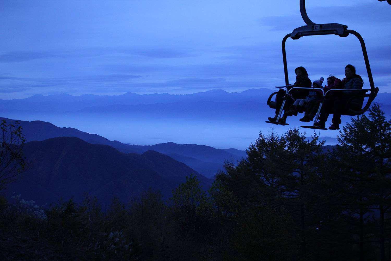 阿智村の雲海